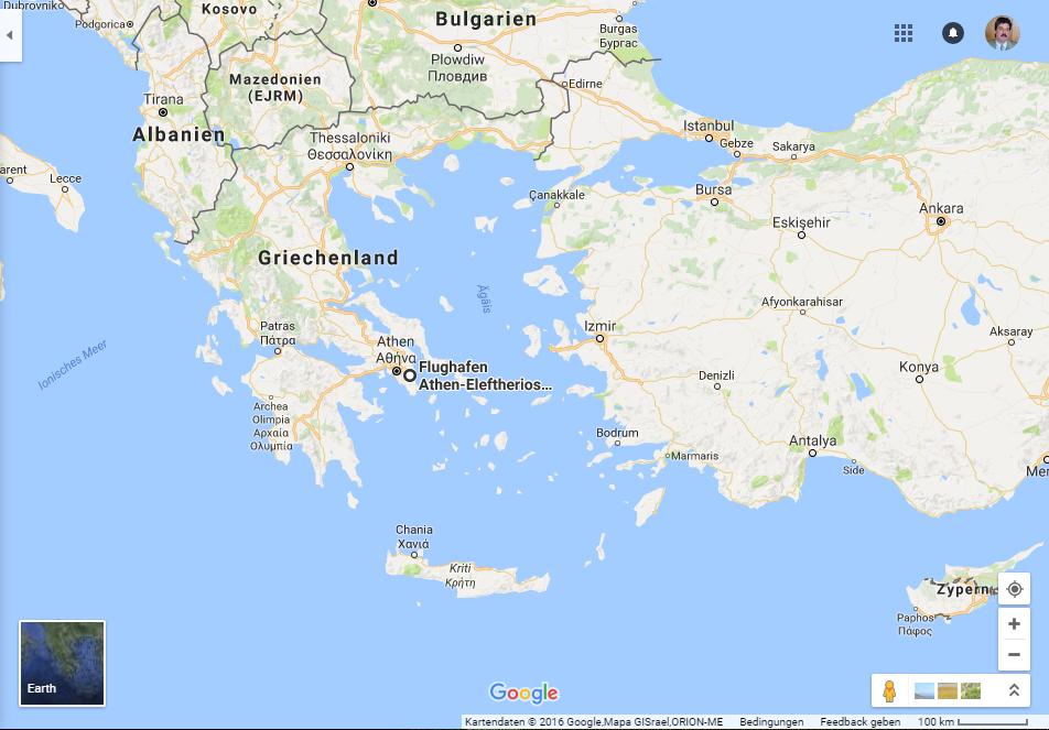 Polenmärkte Karte.Griechenland Alexander Schütze